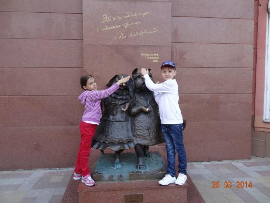 Sculpture Walking Dogs: Их очень любят дети!!!