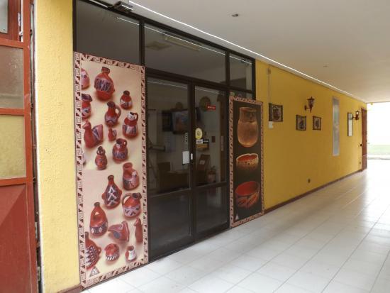Hotel Diaguitas: Ingreso Recepcion