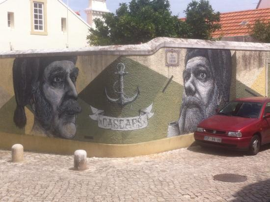 Cascais, Portugal: Street Painting