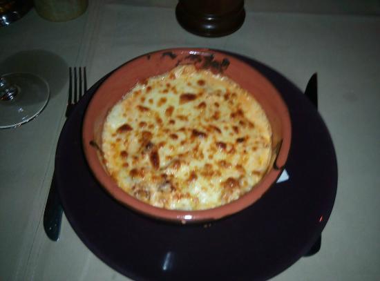 Scapino: Cannelloni al ragu