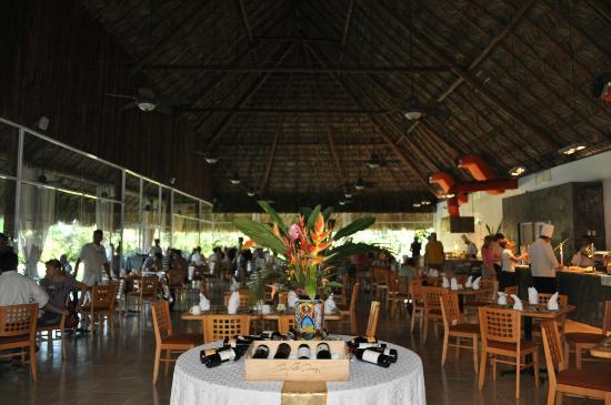 Hotel Villa Mercedes Palenque: Ресторан