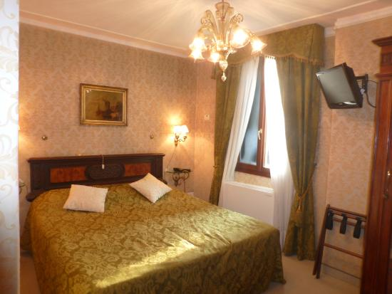 Bel Sito e Berlino: Our room on the 3rd floor at Hotel Bel Sito