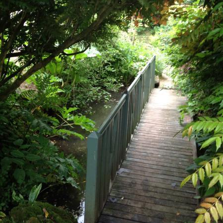 Jardin Agapanthe: Petit pont