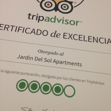 Jardin del Sol Apartments: Gracias! Thank you! ;-)