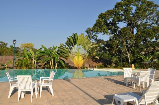 Hotel Villa Mercedes Palenque: Бассейн