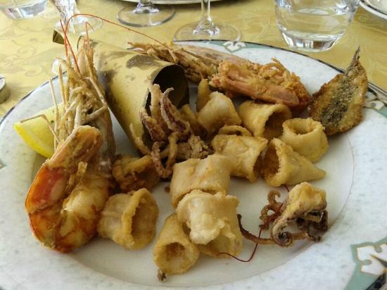 Vittorio al Mare: frittura di mare