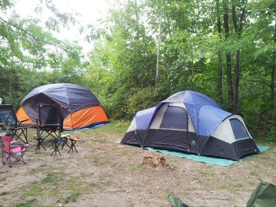 Bronte Creek Provincial Park: It is big enough to fit tents