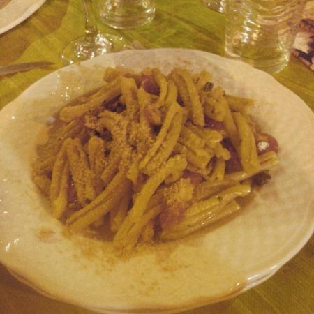 Trattoria Kalliope: Pasta con le sarde