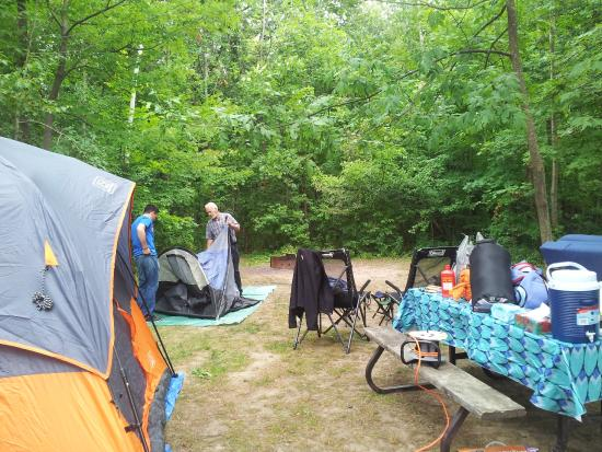 Bronte Creek Provincial Park: Bronte Camp ground