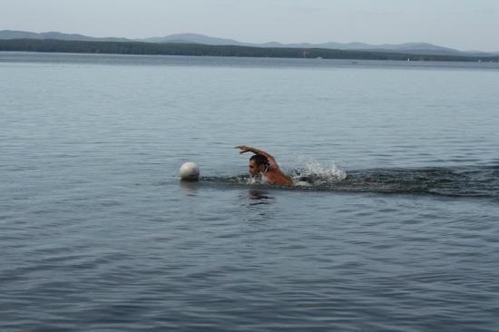 Lake Uvildy: Плывём