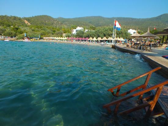 Hotel Samara: La plage