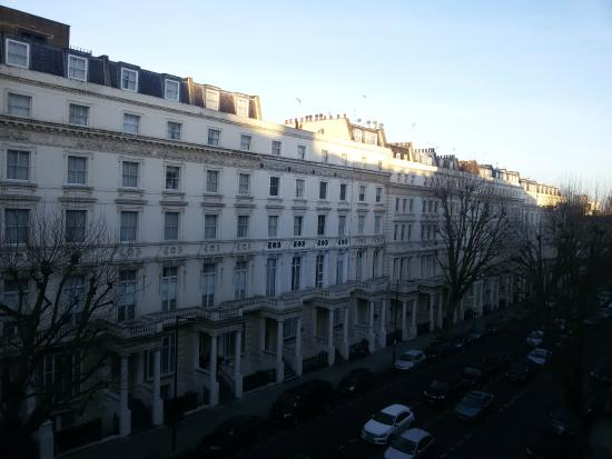 Hyde Park Executive Apartments: Vista da janela