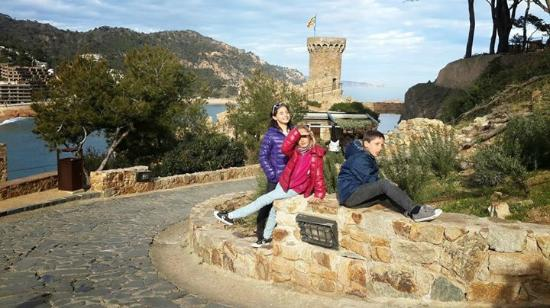 Castillo de Tossa de Mar: Castillo