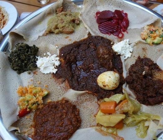 Langano: typical Ethiopian food