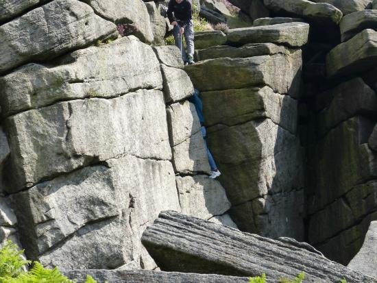 Lost Earth Adventures: Rock Climbing Peak District