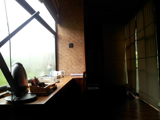 The Rainforest Ecolodge: Gloomy morning