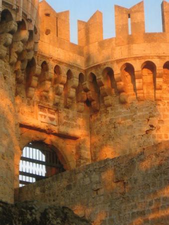 Rodos by, Hellas: fort de rhode ( une porte