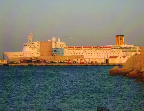 Rodos by, Hellas: port de rhôde