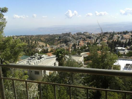 Villa Galilee: הנוף