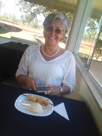 Parrilla San Martin Brasília: Parrilla San Martin, sobremesa interessante