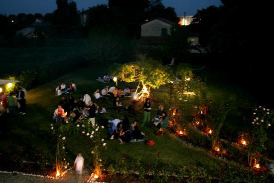 Agriturismo Argaland Parma: Festa Giardino