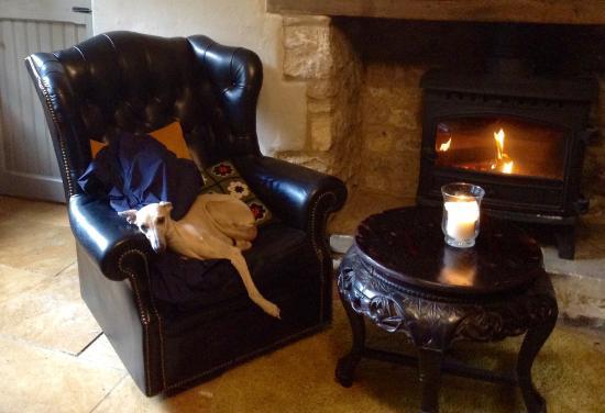 Seven Tuns: Comfy dog friendly pub;)