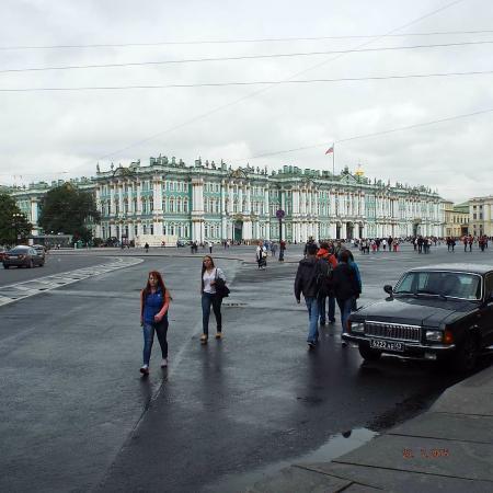 Eremitasjen og vinterpalasset: Nevsky Square