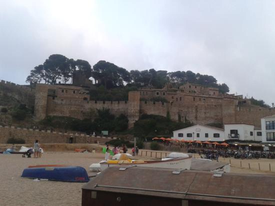 Bilde fra Castillo de Tossa de Mar