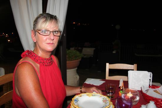 B&B Villa del Sole Relais: le repas a la villa del sol extraordinaire