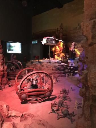 Legoland Malaysia: starwars indoor with full of ac