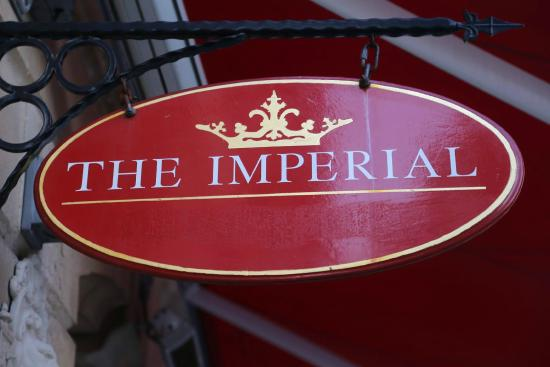 The Imperial Public House: Imp sign