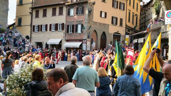 B&B Piccolo Hotel: Historic Town of Cortona