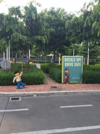 Legoland Malaysia: driving lesson