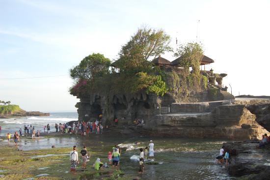 Tanah Lot Temple: Nachmittagsimpression
