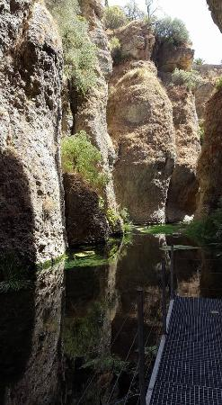 La Casa Del Rey Moro: Cauce del río