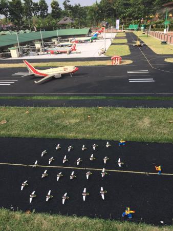 Legoland Malaysia: lego airport