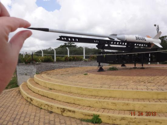 Barreira do Inferno Launch Center: foguete