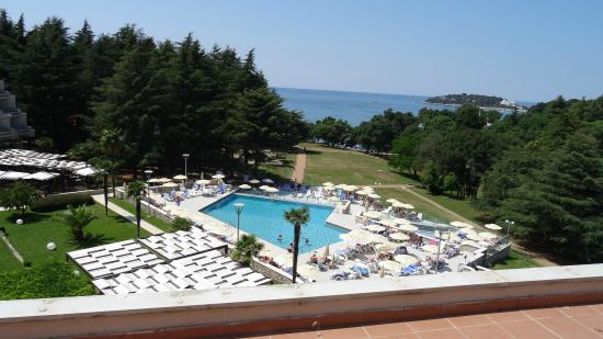Hotel Laguna Mediteran: uitzicht balkon