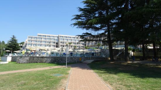Hotel Laguna Mediteran: hotel aanzicht