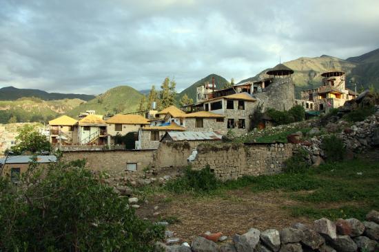 Hotel Kunturwassi Colca: Lage des Hotels