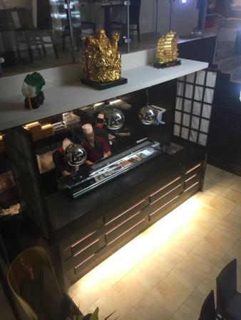 Tian Tian Sushi: La cucina a vista