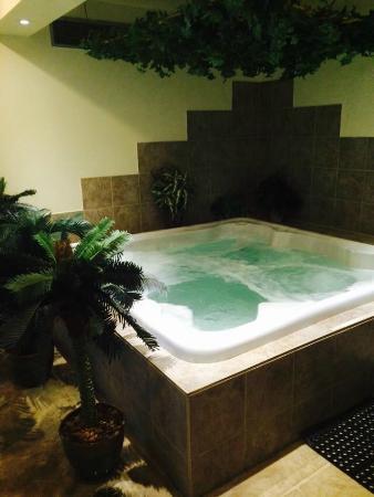 Hôtel Motel Le Châteauguay: great hot tub/jacuzzi