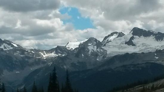 Whistler Blackcomb: View from the Summit