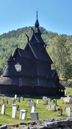 Borgund Stave Church: Very unusual