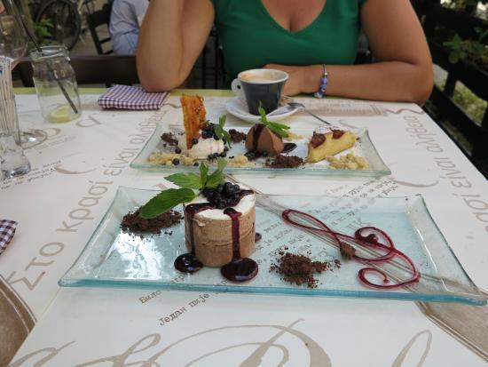 Project 72 Wine&Deli: Project 72 desserts
