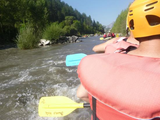Buena Vista Rafting: Water is rougher than it looks