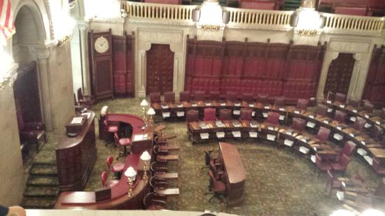 New York State Capitol: Senate Chamber