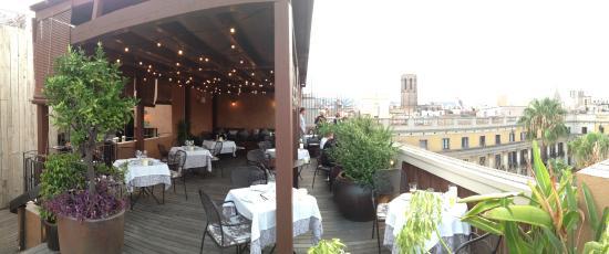 La Terrassa del DO: The terrace restaurant