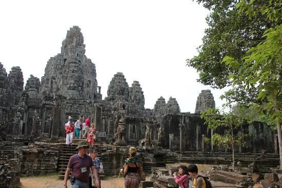 Angkor Thom: Bayon Temple one of the temples in this site