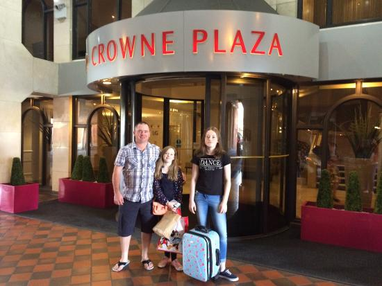 Crowne Plaza Chester: Our fantastic stay at The Crowne Plaza!
